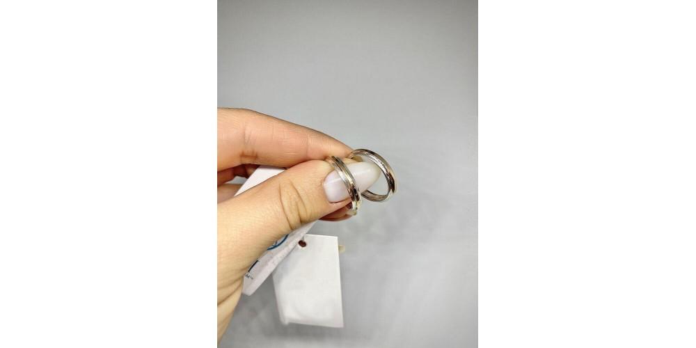 «Непроста прикраса...»: срібна обручка з золотою вставкою