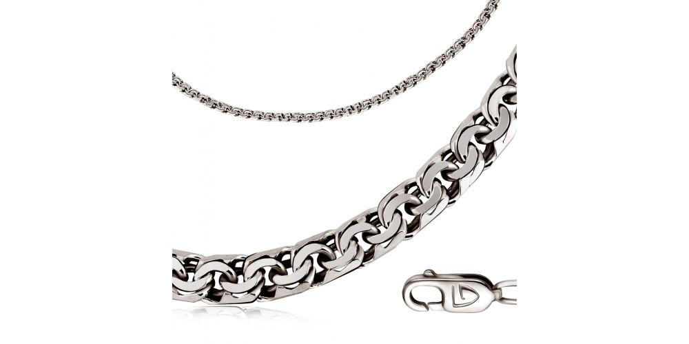 «Спіга»: особливості виду плетіння срібних ланцюжків