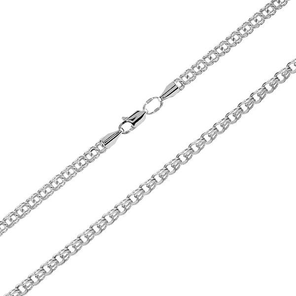 Ланцюжок срібний Бісмарк (14546)