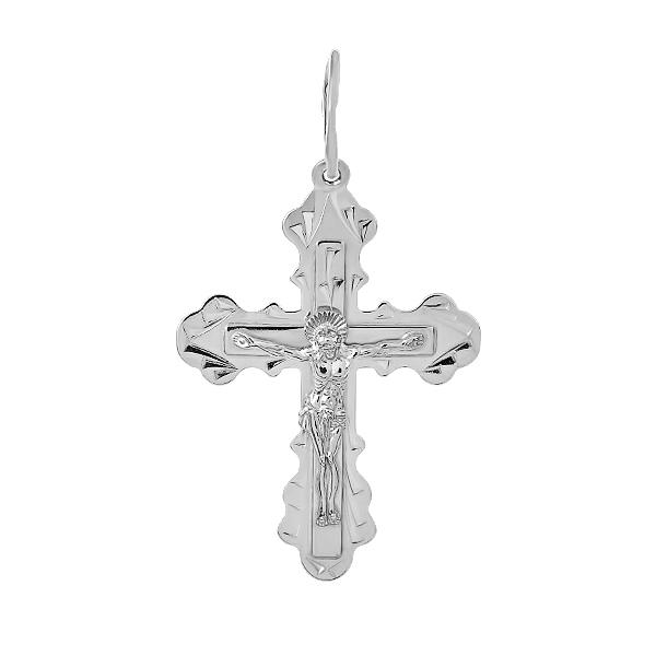 Хрестик срібний Розп'яття Христове (3130-Р НВ)
