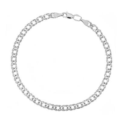 Браслет срібний Ромб (35602)