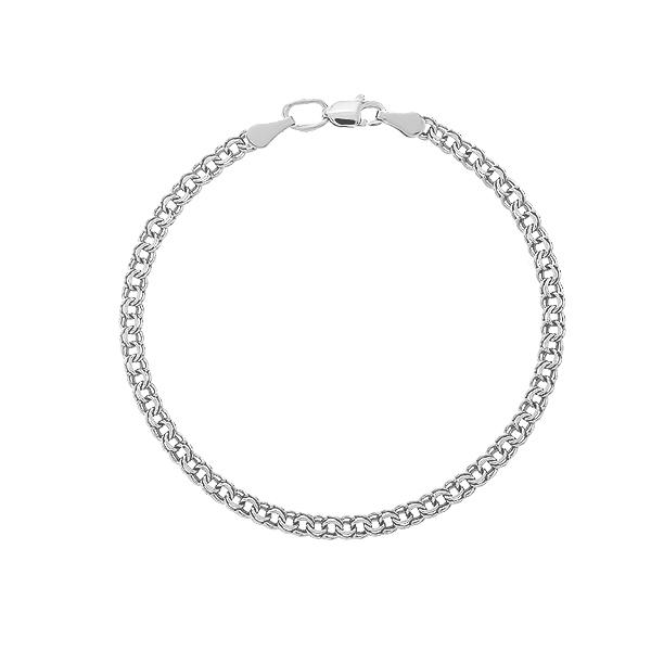 Браслет срібний Бісмарк (39521)