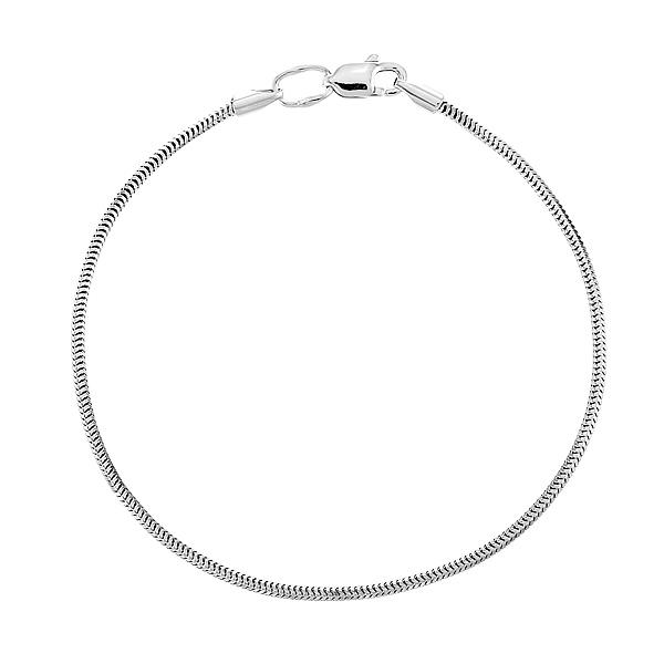 Браслет срібний м'який Снейк (41511)