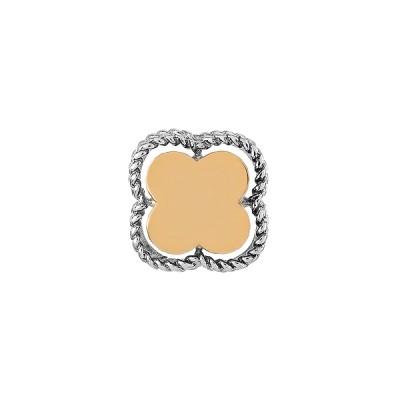 Підвіска срібна фантазія без каменів та золотими вставками (500435-КЗНР)