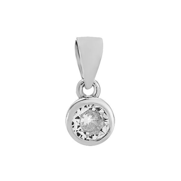Підвіска срібна фантазія з розсипом (540008б)
