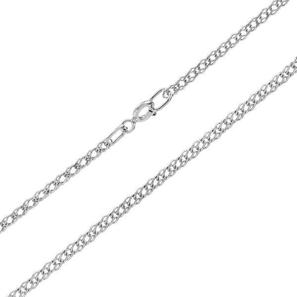 Ланцюжок срібний подвійний Ромб (811Р 3/55)