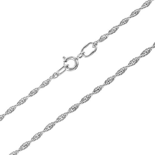 Ланцюжок срібний Вєрьовка (901023030р)