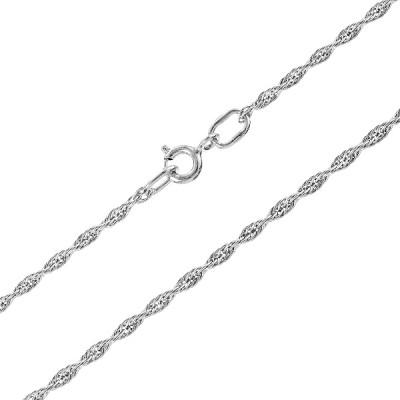 Ланцюжок срібний Вєрьовка (901023040р)