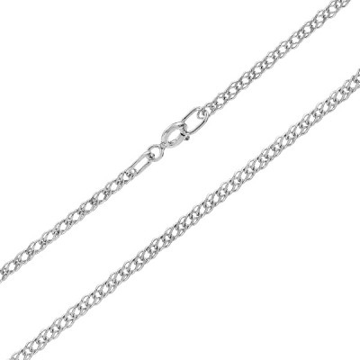 Ланцюжок срібний подвійний Ромб (90106210043р)