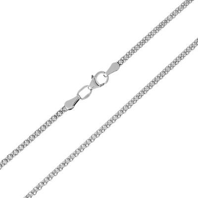 Ланцюжок срібний подвійний Якір (90112203041р)