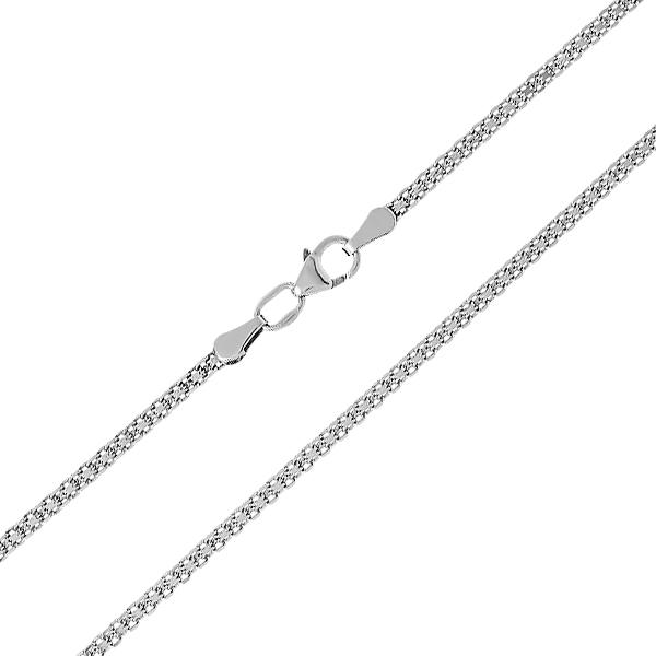 Ланцюжок срібний подвійний Якір (90112205041р)