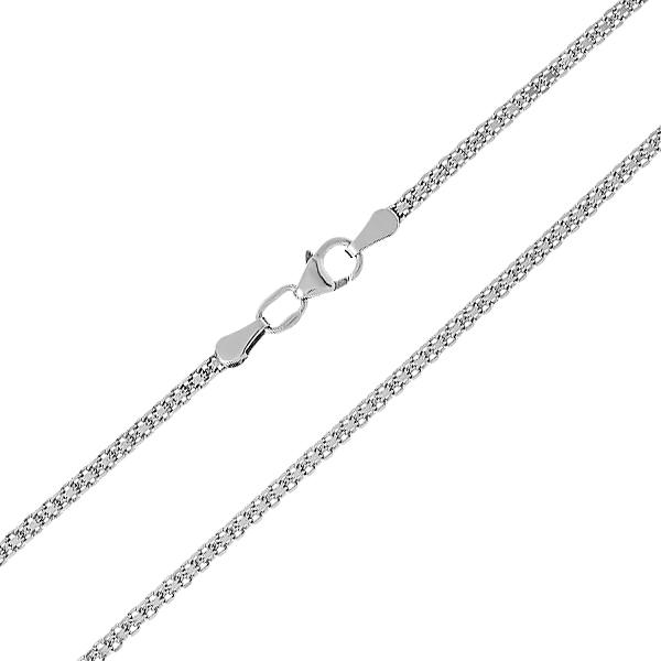 Ланцюжок срібний подвійний Якір (90112206541р)