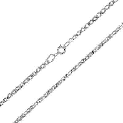 Ланцюжок срібний потрійний Ромб (90133303041р)