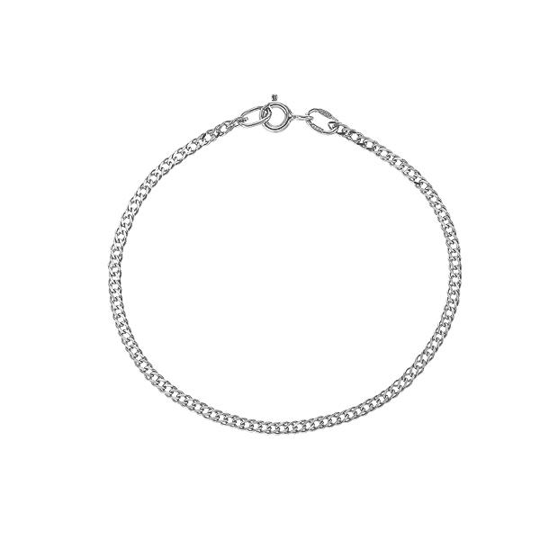 Браслет срібний подвійний Ромб (90206204041р)