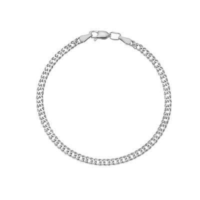Браслет срібний подвійний Ромб (90206206041р)