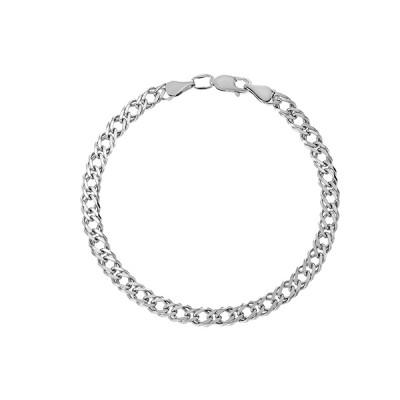 Браслет срібний подвійний Ромб (90206208043р)