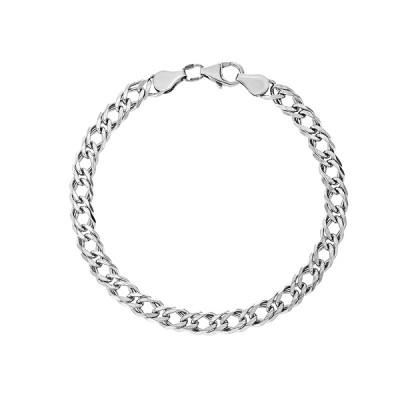 Браслет срібний подвійний Ромб (90206210043р)