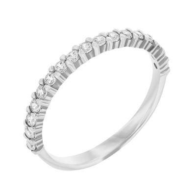 Каблучка срібна доріжка з фіанітами (910004б)
