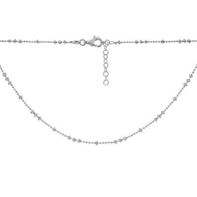 Кольє срібне Фантазія без каменів (D004HK2561 R)