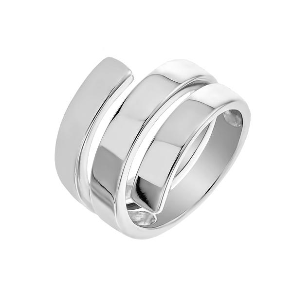 Каблучка срібна фантазія без каменів (D110CA0212 R)