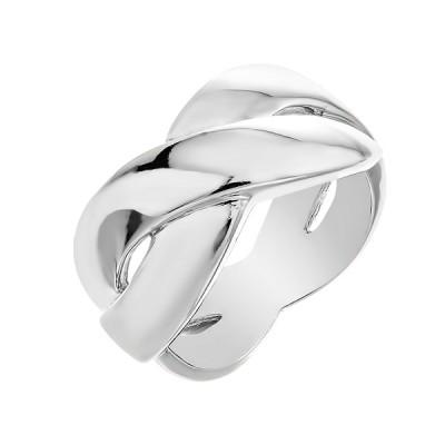 Каблучка срібна фантазія без каменів   (D110CA0227 R)