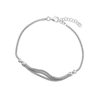 Браслет срібний фантазія без каменів (D3000BK0469 R)