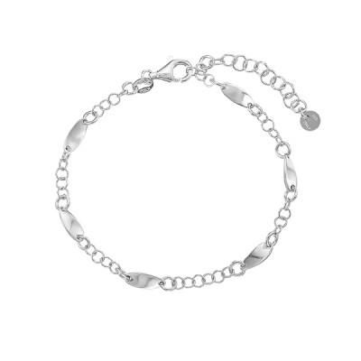 Браслет срібний фантазія без каменів (D3000BK0470 R)