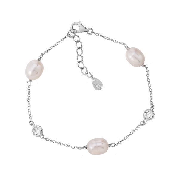 Браслет срібний фантазія без каменів (D4016BK0107 R12)