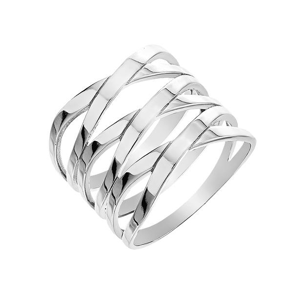 Каблучка срібна фантазія без каменів (D4158A0006 R)