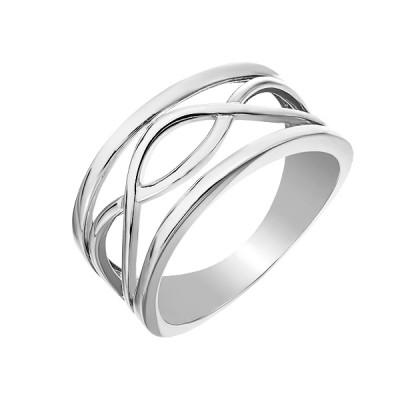 Каблучка срібна фантазія без каменів   (D4158A0007 R)