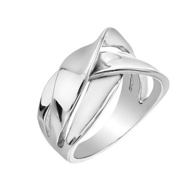 Каблучка срібна фантазія без каменів   (D4158A0014 R)