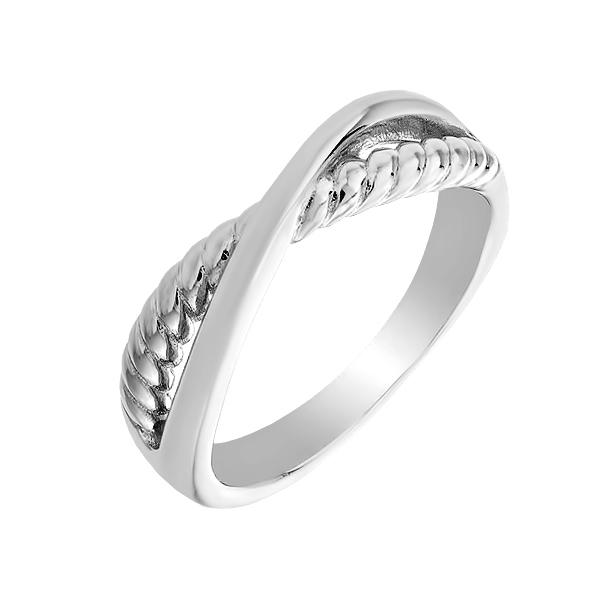 Каблучка срібна фантазія без каменів (D4158A0015 R)
