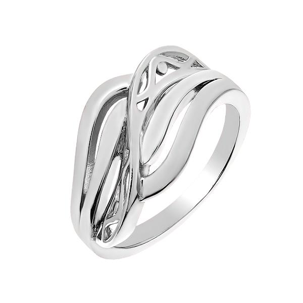 Каблучка срібна фантазія без каменів (D4158A0017 R)