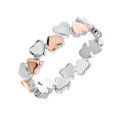 Каблучка срібна фантазія без каменів   (D4158A0020 RE)