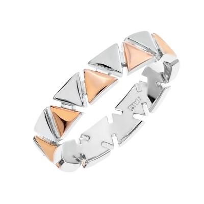 Каблучка срібна фантазія без каменів   (D4158A0022 RE)