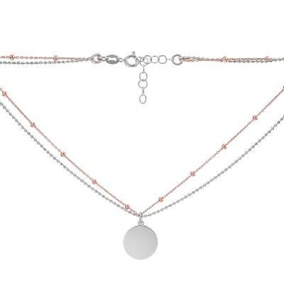 Кольє срібне Фантазія без каменів (D5005HK0903 RE)