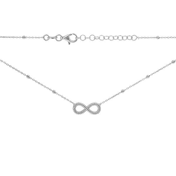 Кольє срібне Безмежність без каменів (D5008HK2483 R)