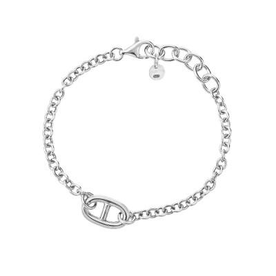 Браслет срібний фантазія без каменів (D5009BK0918 R)