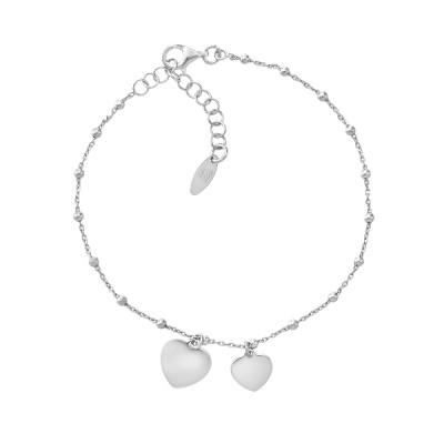 Браслет срібний фантазія без каменів (D5016BK3455 R06)