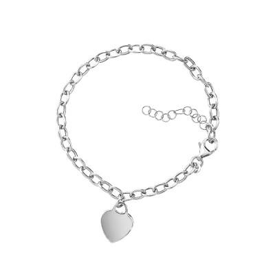 Браслет срібний фантазія без каменів (D5032BK0714 R)