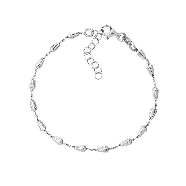 Браслет срібний фантазія без каменів (D5035BK1459 R)