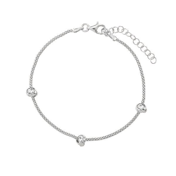 Браслет срібний фантазія без каменів (D5035BK1461 R)