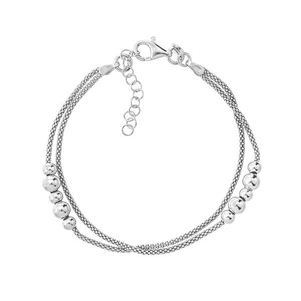 Браслет срібний фантазія без каменів (D5035BK1477 R)