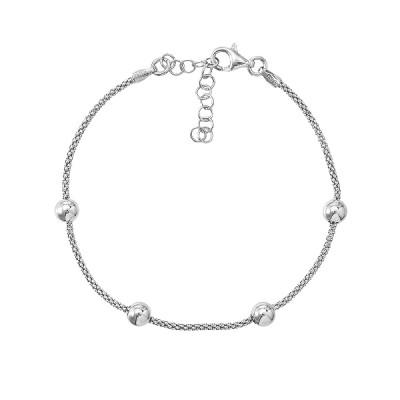 Браслет срібний фантазія без каменів (D5035BK1481 R)