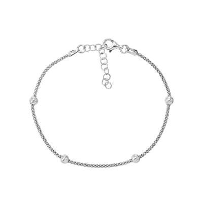 Браслет срібний фантазія без каменів (D5035BK1482 R)