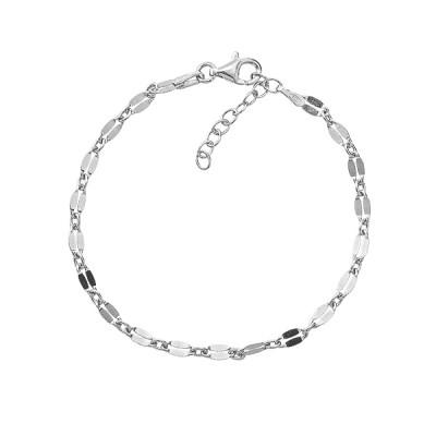 Браслет срібний фантазія без каменів (D5054BK0670 R)