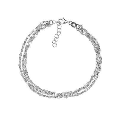Браслет срібний фантазія без каменів (D5054BK0680 R)