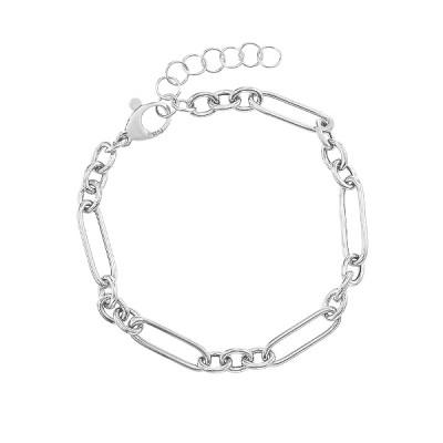 Браслет срібний фантазія без каменів (D5086BK0851 R)