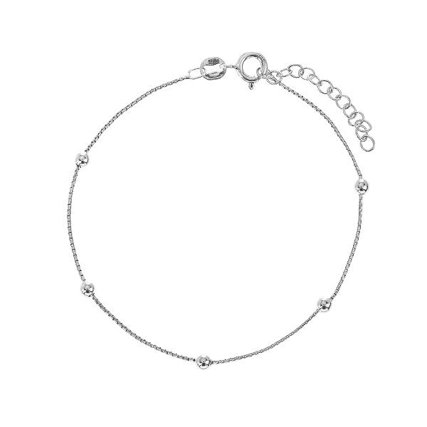Браслет срібний фантазія без каменів (D5136BK0016 R)