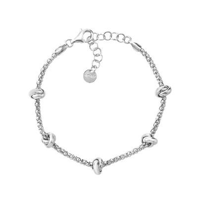 Браслет срібний фантазія без каменів (D5138BK0018 R)